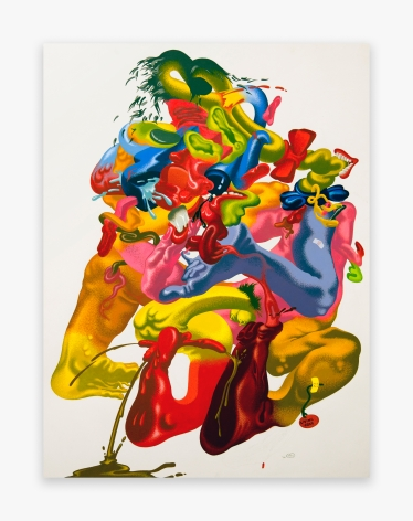 Peter Saul Untitled, 1980