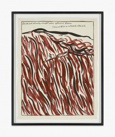 Raymond Pettibon No Title (Kurek had already…)