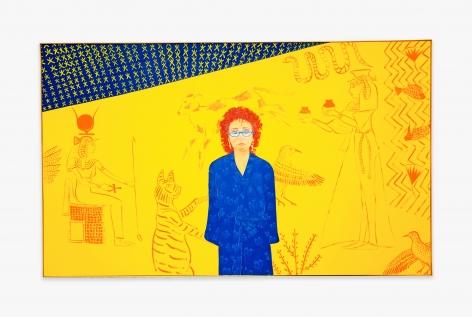 Joan Brown Homage to Akhenaton, 1983