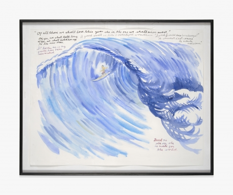Raymond Pettibon No Title (Of all those…)