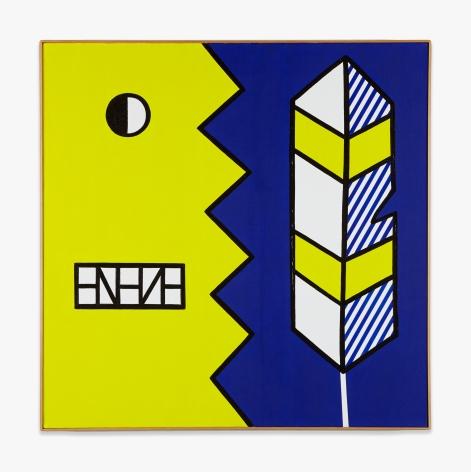 Roy Lichtenstein Face and Feather
