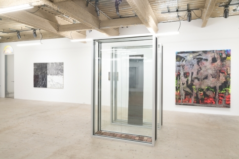 Installation view ofLife, curated by The Journal Gallery, New York, Venus Over Manhattan, 2014