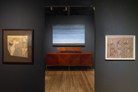 "Installation view of ""Remembering Phyllis Kind,"" The Art Show at the Park Avenue Armory, 2020"