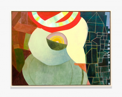 Thomas Nozkowski Untitled (9-26) (The Katy Kill), 2012