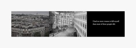 Michel Houellebecq France #008 – France #009 – I had..., 2017