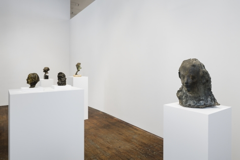 Medardo Rosso: Ten Bronzes– installation view 2