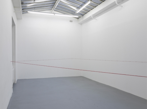 Fred Sandback – installation view 6