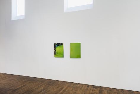 LIZ DESCHENES Green Screen #1 and #3 (diptych)