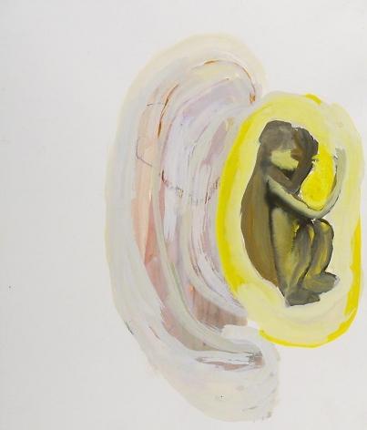Untitled (foetus/singe) 2002