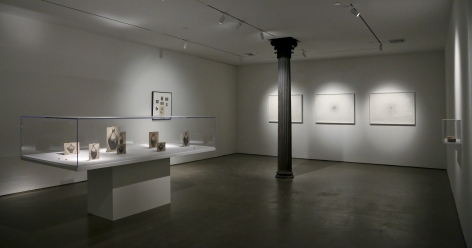 David Adamo / James Castle– installation view 9