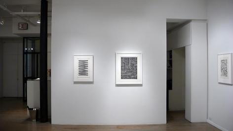 Jan Schoonhoven: Drawings– installation view 5