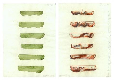 Werkzeichnung (#15) 1969-1971