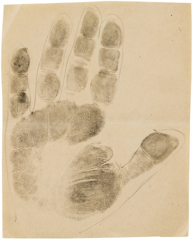JOSEPH STELLA, Handprint