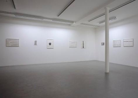 Silvia Bächli– installation view 2