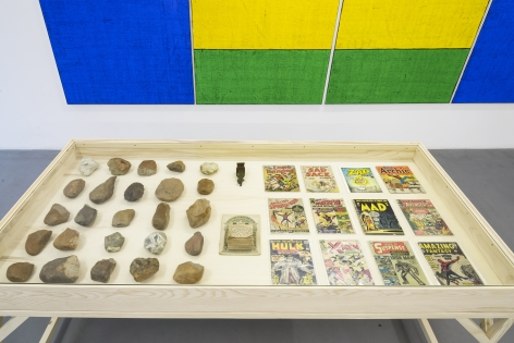 Matt Mullican: Collecting for the studio -Collecting 1959-2013 – installation view 3