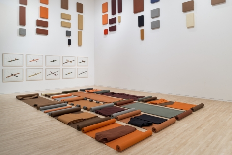 Franz Erhardt Walther: The Body Draws, The Henry, Seattle