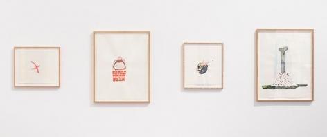 Souvenirs de Paris– installation view 10