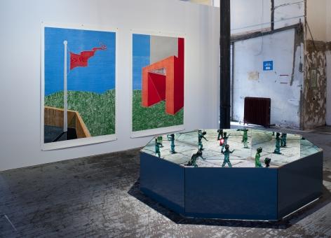 Thomas Schütte: New Work (at 140 Grand Street)– installation view 2