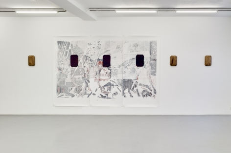 Lucy Skaer: Blanks and Ballast – installation view 3