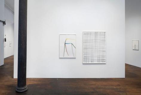 Silvia Bächli: further. evolves.– installation view 1