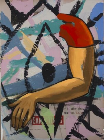 David Salle, Arm