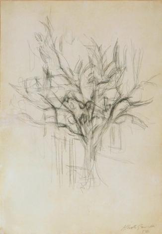 Alberto Giacometti Arbre