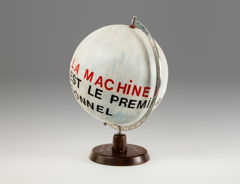Le manifeste sur la machine [manifesto on the machine]
