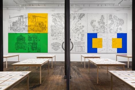 Matt Mullican: Pantagraph– installation view 7