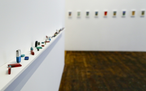 David Adamo / James Castle – installation view 4
