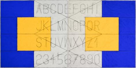 Untitled (Alphabet in Language)