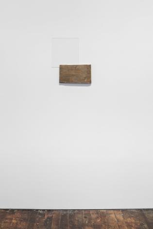 Untitled 2015 wood, plexiglas