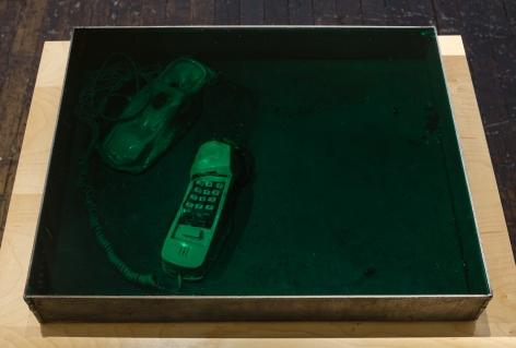 Matt Mullican Untitled (Melted Phone) (detail)