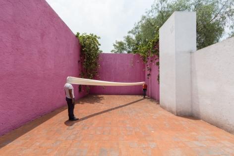 Franz Erhard Walther, Estancia FEMSA Casa Luis Barragán, Mexico City.