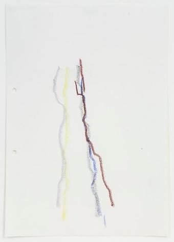 Charlotte Posenenske Zeichnung (nach der Natur)[Drawing (after Nature)]
