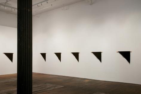 Helen Mirra: Waulked, – installation view 3