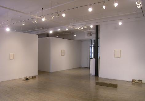 Helen Mirra: Break camp– installation view 2