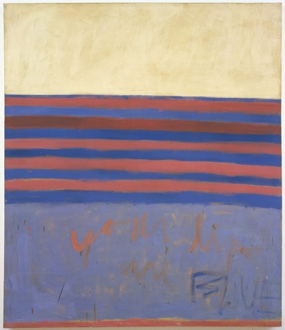 Frank Stella Your Lips Are Blue