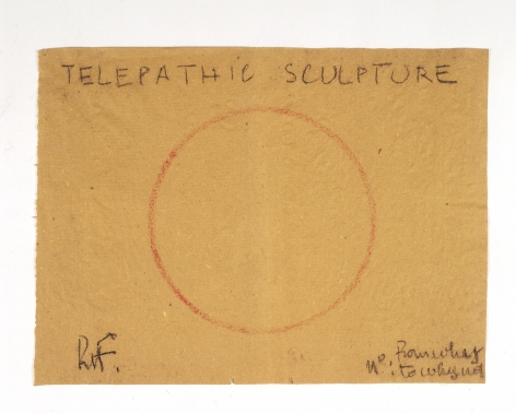 Robert Filliou Telepathic Sculpture