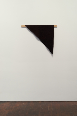 Helen Mirra Waulked Triangle, CT02d/ME02d