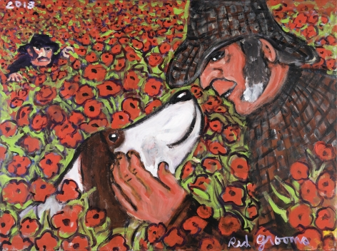 Red Grooms, The Poppy Field