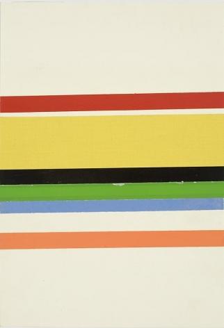 Charlotte Posenenske, Streifenbild (Striped Picture)