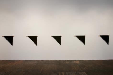Helen Mirra: Waulked, – installation view 2