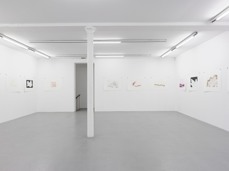Thomas Schütte: Woodcuts 2011– installation view 6