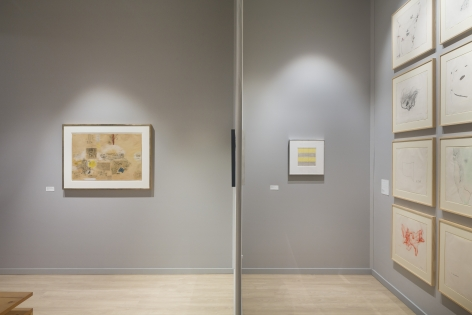 Master Drawings:Alexander Calder, Michael Heizer, Jasper Johns, Franz Kline,Lee Lozano, Agnes Martin, Robert Rauschenberg,Gerhard Richter, Cy Twombly