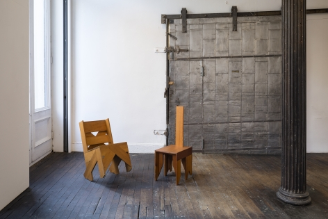 ALEX HAY, Untitled (Lean Back Chair)