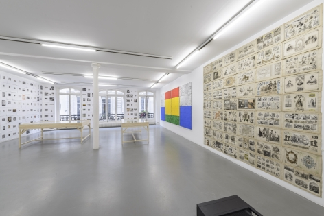 Matt Mullican: Collecting for the studio -Collecting 1959-2013– installation view 10