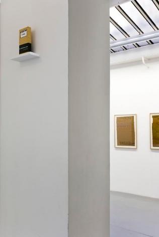 Robert Filliou:Je Meurs trop– installation view 10