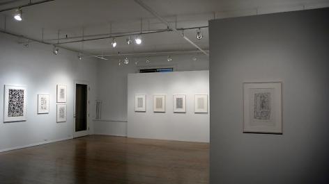 Jan Schoonhoven: Drawings – installation view 1