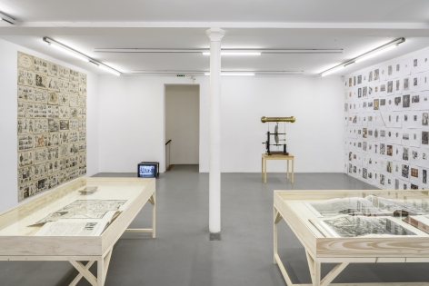 Matt Mullican: Collecting for the studio -Collecting 1959-2013– installation view 12