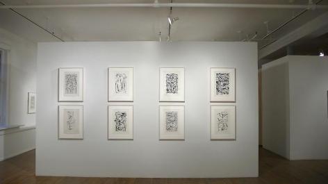 Jan Schoonhoven: Drawings– installation view 4